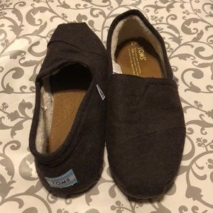 TOMS Faux Shearling Lined Slip On